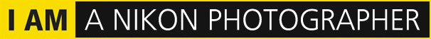 Logo I AM A NIKON PHOTOGRAPHER